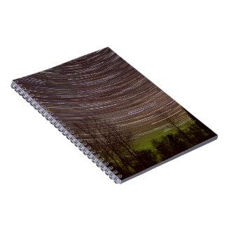Northern Lights - Aurora - Star Trails Notebook