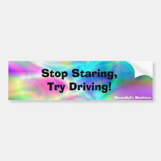 Northern Lights Car Bumper Sticker