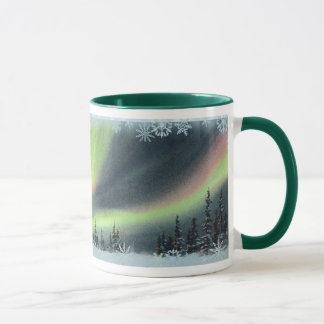 NORTHERN LIGHTS by SHARON SHARPE Mug