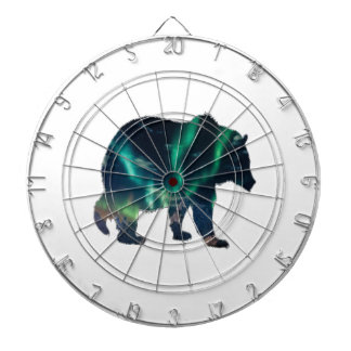 Northern Lights Dartboard