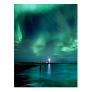 Northern Lights Iceland Postcard