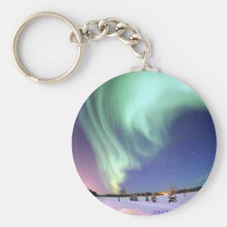 Northern Lights Keychain