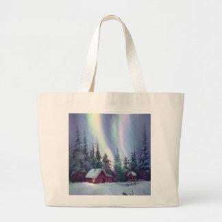 NORTHERN LIGHTS & LOG CABIN BAG