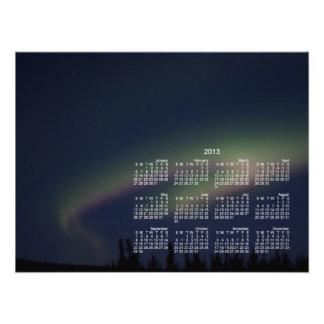 Northern Lights Loop; 2013 Calendar Photo Art