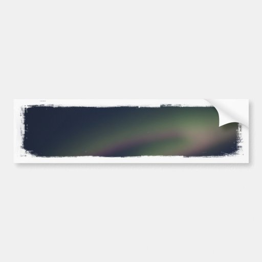 Northern Lights Loop Bumper Stickers