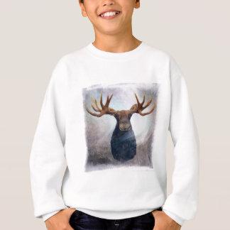 Northern Lights Moose Sweatshirt
