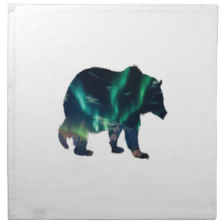 Northern Lights Napkin