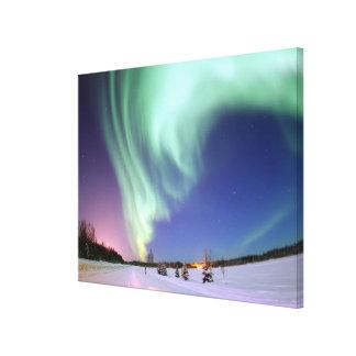 Northern Lights of Alaska Photograph Canvas Print