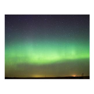 Northern Lights over Alberta Postcard