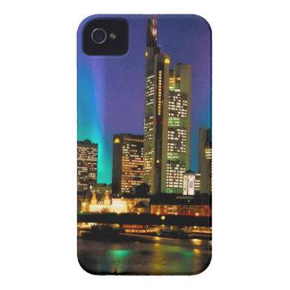 Northern Lights Over Frankfurt - original artwork iPhone 4 Cases