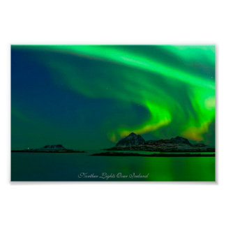 Northern Lights over Iceland  Value Poster