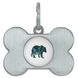 Northern Lights Pet Tag