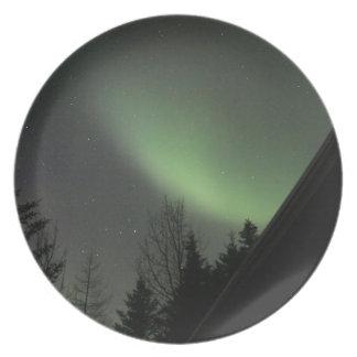 Northern Lights Plate