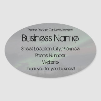 Northern Lights Show Promotional Sticker