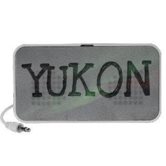 Northern Lights Show Yukon Territory Souvenir Travelling Speakers