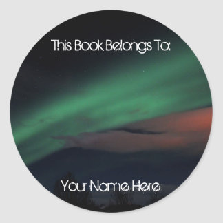 Northern Lights Starry Sky Stickers