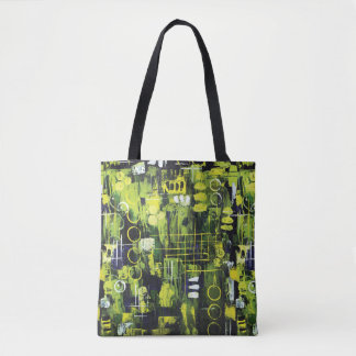 Northern Lights Tote Bag - Aurora Borealis
