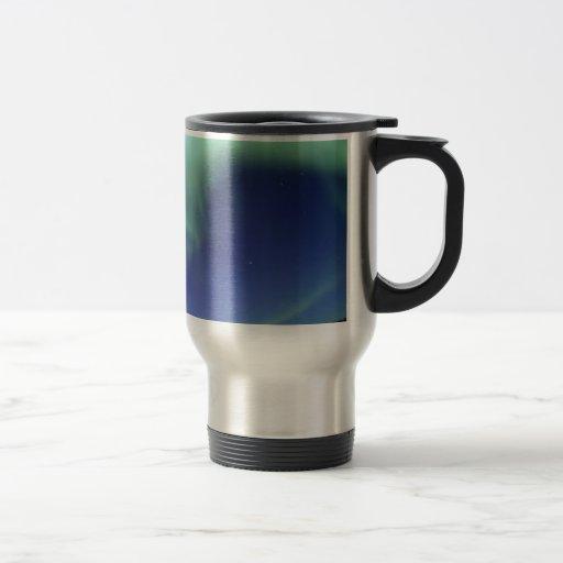 Northern Lights Travel Coffee Mug