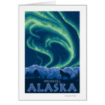Northern Lights - Wrangell, Alaska Card