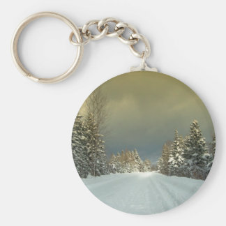 Northern Maine 7 Key Ring