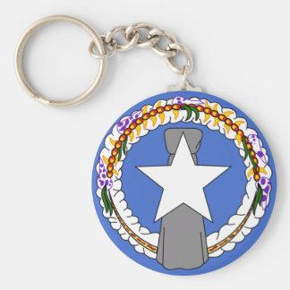 Northern Mariana Flag Key Ring