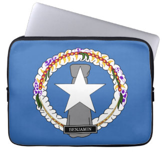 Northern Mariana Islands Flag Laptop Computer Sleeve