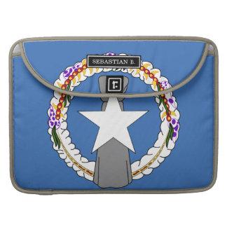 Northern Mariana Islands Flag Sleeve For MacBook Pro