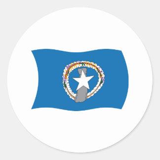 Northern Mariana Islands Flag Sticker