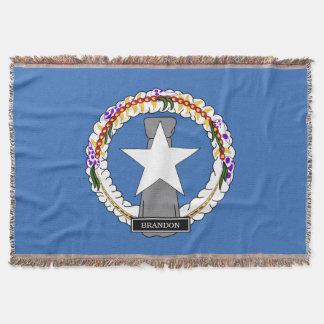 Northern Mariana Islands Flag Throw Blanket