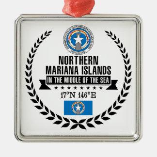 Northern Mariana Islands Metal Ornament