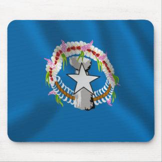 Northern Mariana Islands Waving Flag Mouse Pad