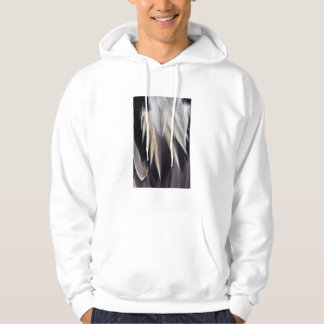 Northern Pintail Duck feather Hoodie