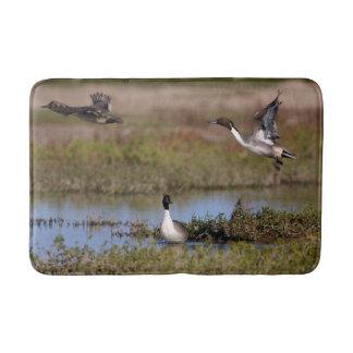 Northern Pintail Duck Flying Bath Mat