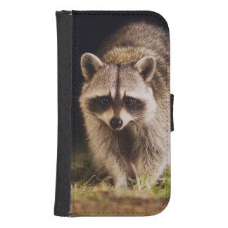 Northern Raccoon, Procyon lotor, adult at Galaxy S4 Wallets