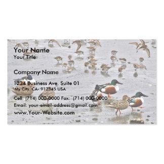 Northern Shovelers Business Card