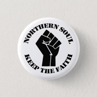 Northern Soul 3 Cm Round Badge