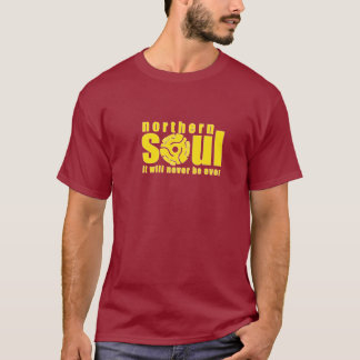 Northern Soul 45 yellow T-Shirt
