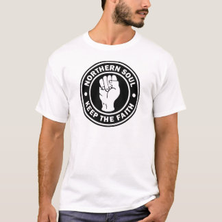 northern soul Logo  black T-Shirt