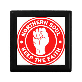 northern soul Logo Red Gift Box