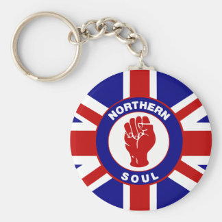 Northern Soul Union jack Keychain