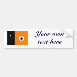 Northern Territory Flag Bumper Sticker