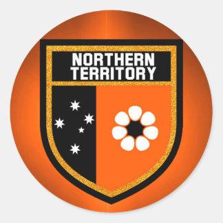Northern Territory  Flag Classic Round Sticker