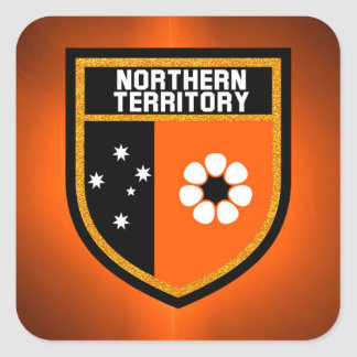 Northern Territory  Flag Square Sticker