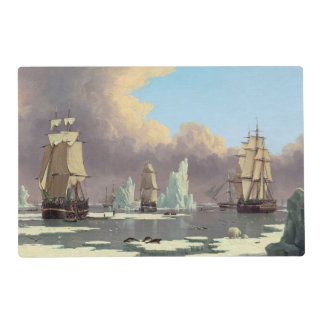 "Northern Whale Fishery: ""Swan"" & ""Isabella"" Placemat"
