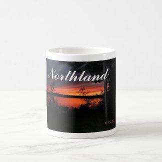 Northland sunset coffee mug