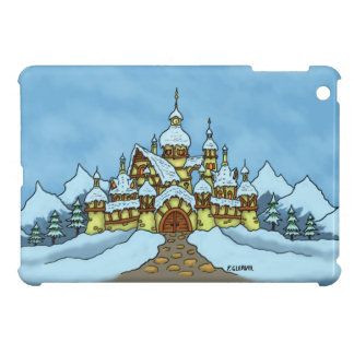 northpole holiday winter case for the iPad mini