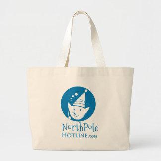 Northpole_Hotline_Hand-Bag's Jumbo Tote Bag