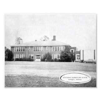 Northport Elementary around 1956 Photo Print