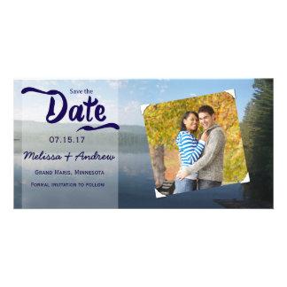 Northren Woods Wedding Save the date Photo Card