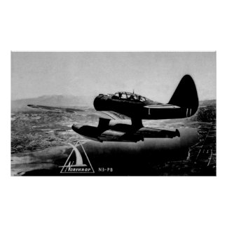 Northrop N3-PB  WWII Patrol Bomber Poster